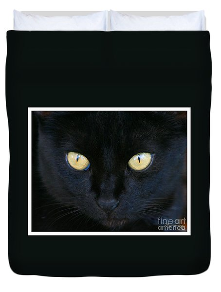 The Eyes Have It Duvet Cover by Mariarosa Rockefeller
