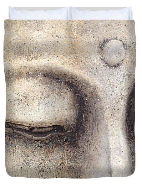 The Eyes Of Buddah Duvet Cover
