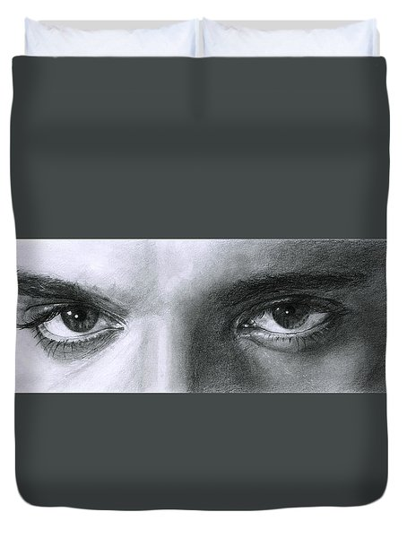 The Eyes Of The King Duvet Cover
