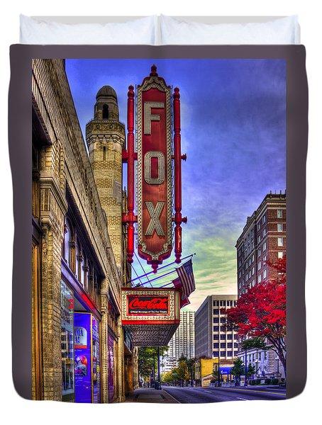 The Fabulous Fox Atlanta Georgia. Duvet Cover