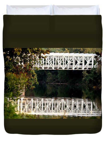 The Falls Bridge Duvet Cover