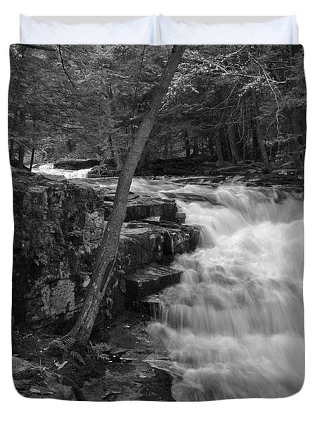 The Falls Duvet Cover by David Rucker