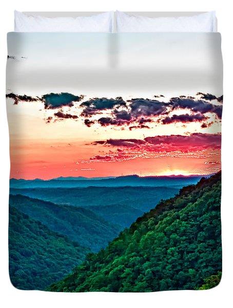 The Far Hills 2 Duvet Cover