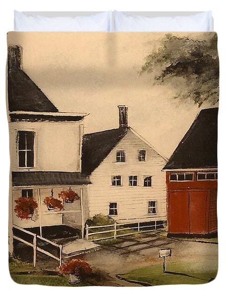 The Farmhouse Duvet Cover
