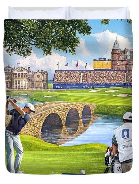 The Final Hole -golfers Paradise Duvet Cover