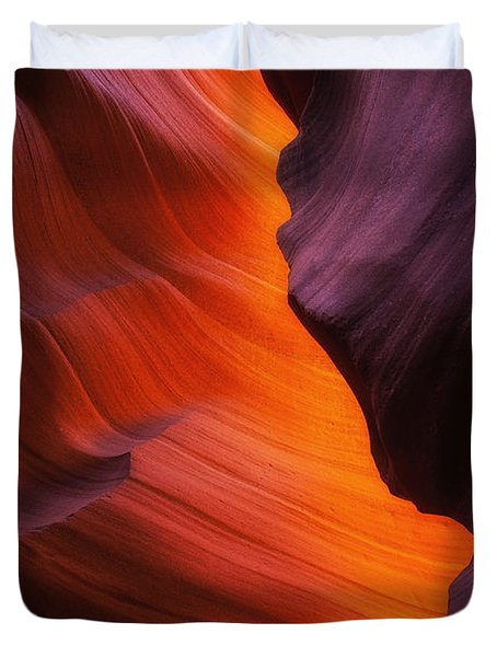 The Fire Within Duvet Cover by Darren  White