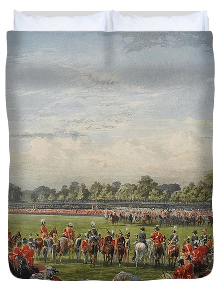 The First Distribution Of The Vc Duvet Cover
