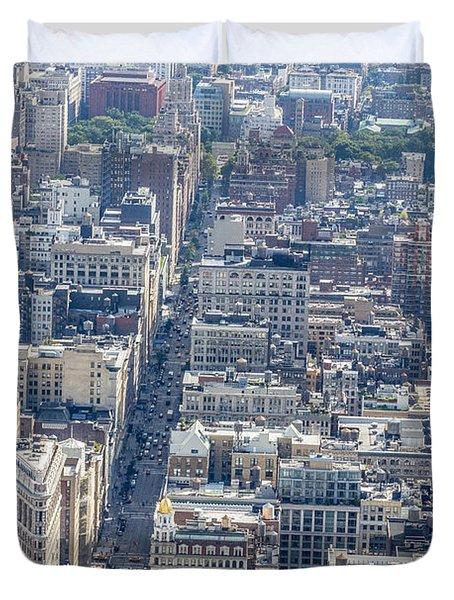 The Flatiron Building Duvet Cover