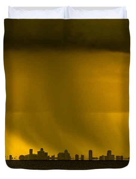 The Floating City  Duvet Cover
