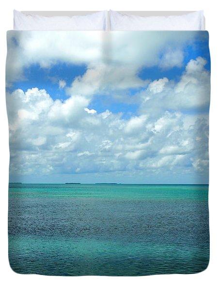 The Florida Keys Duvet Cover