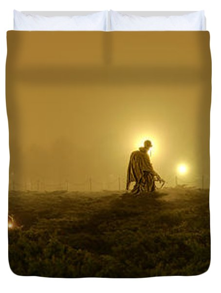 The Fog Of War #1 Duvet Cover