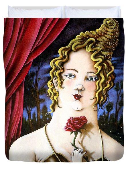 the Forgotten Woman Duvet Cover