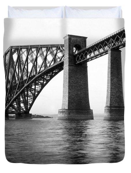 The Forth Bridge Duvet Cover