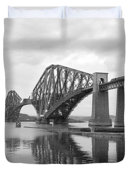 The Forth II Duvet Cover by Mike McGlothlen