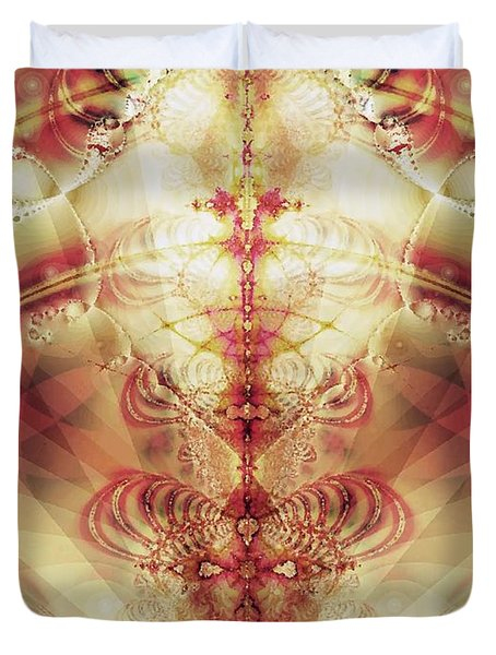 The Fountain Of Youth Duvet Cover by Anastasiya Malakhova