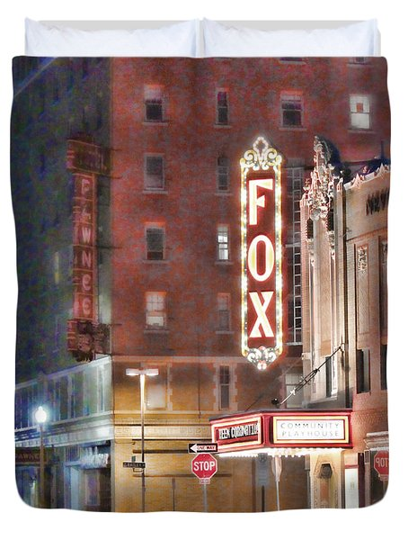 The Fox After The Show Duvet Cover