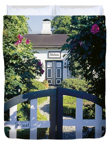 The Front Garden Duvet Cover by Heiko Koehrer-Wagner