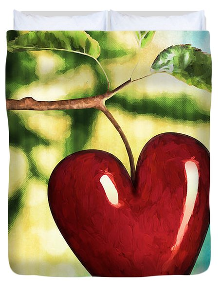 The Fruit Of The Spirit Duvet Cover