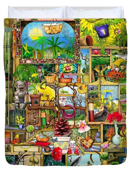 The Garden Cupboard Duvet Cover