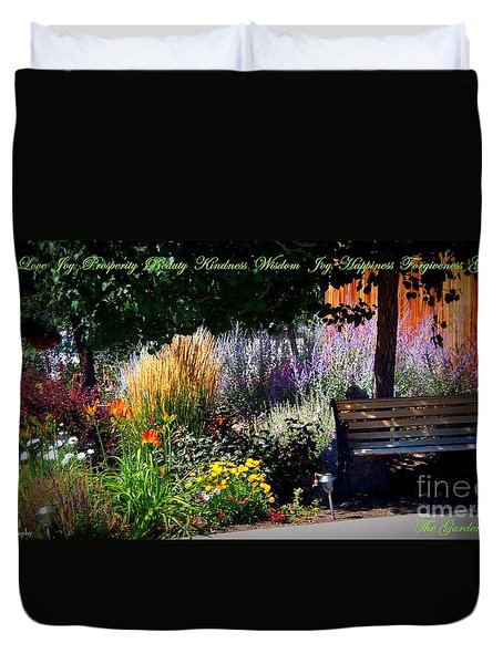 The Garden Of Life Duvet Cover