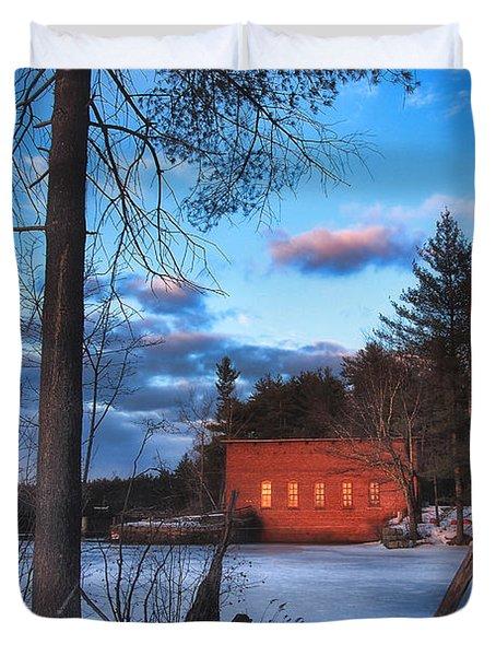 The Gatehouse Duvet Cover by Joann Vitali