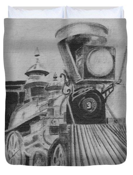 The General - Train - Big Shanty Kennesaw Ga Duvet Cover