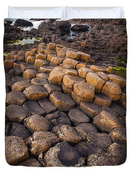 The Giant's Causeway - Rocky Road Duvet Cover