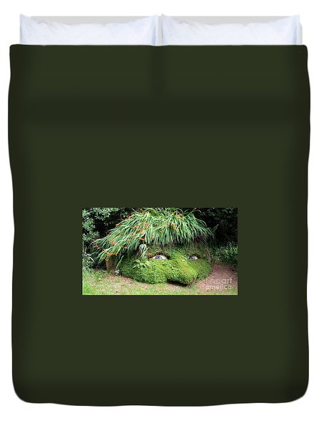 The Giant's Head Heligan Cornwall Duvet Cover