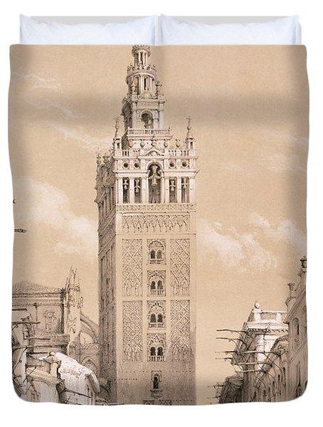 The Giralda, Seville Duvet Cover
