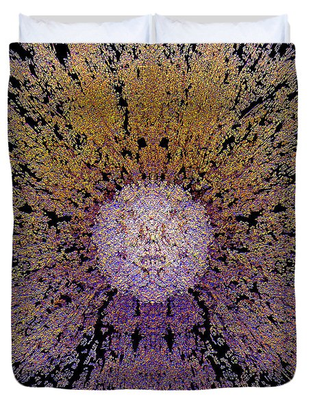 The God Particle Duvet Cover by Michael Durst