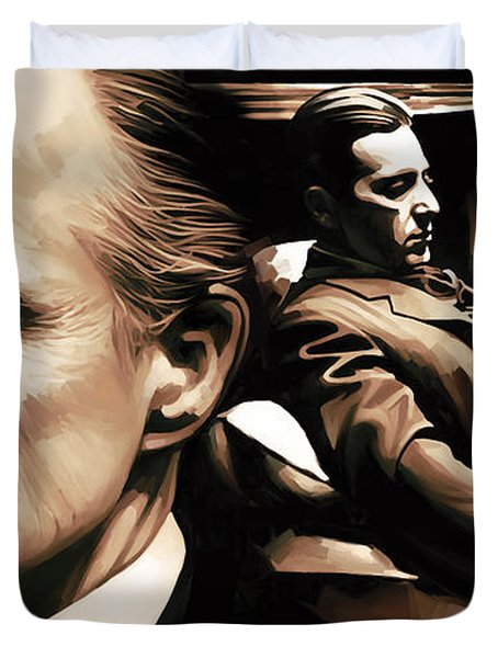 The Godfather Artwork Duvet Cover by Sheraz A