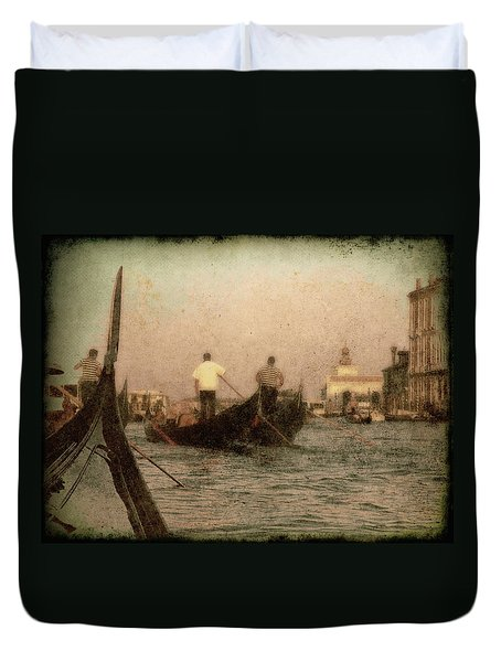 The Gondoliers Duvet Cover