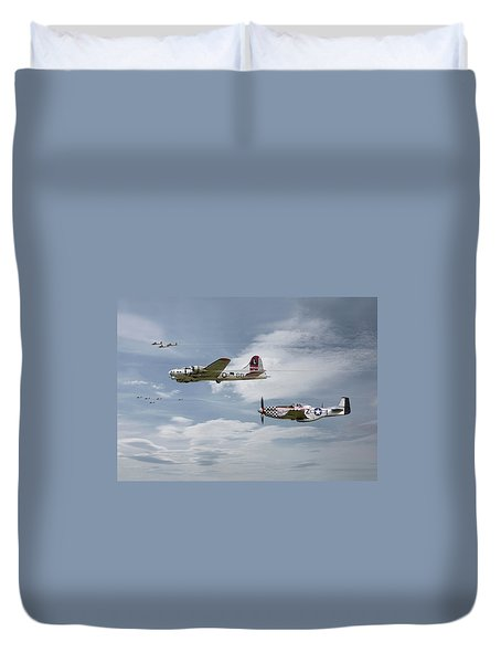 The Good Shepherd Duvet Cover by Pat Speirs