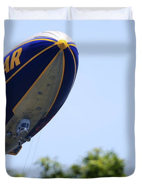 The Goodyear Blimp N3a Duvet Cover