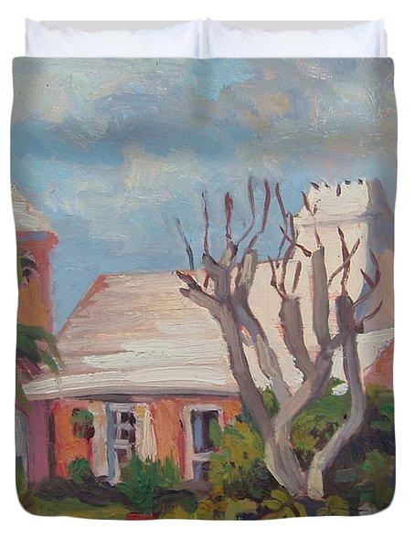 The Granaway Duvet Cover by Dianne Panarelli Miller