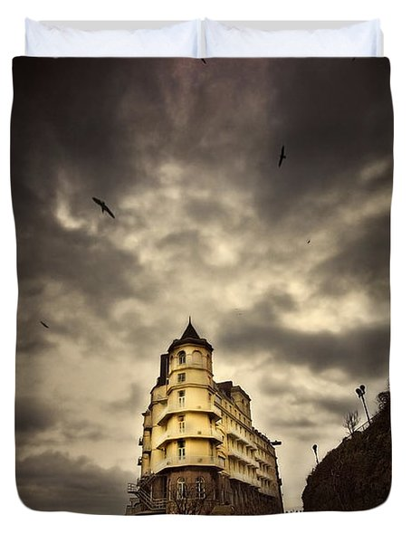Duvet Cover featuring the photograph The Grand by Meirion Matthias
