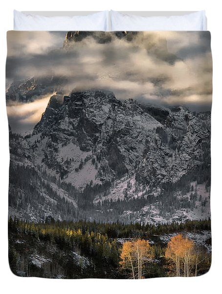 The Grand Teton Duvet Cover