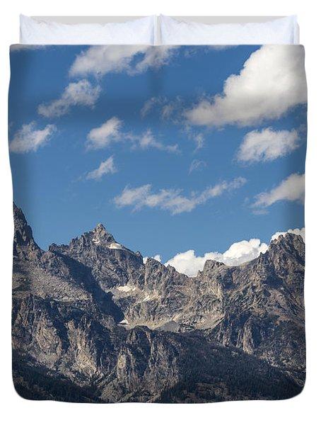 The Grand Tetons - Grand Teton National Park Wyoming Duvet Cover