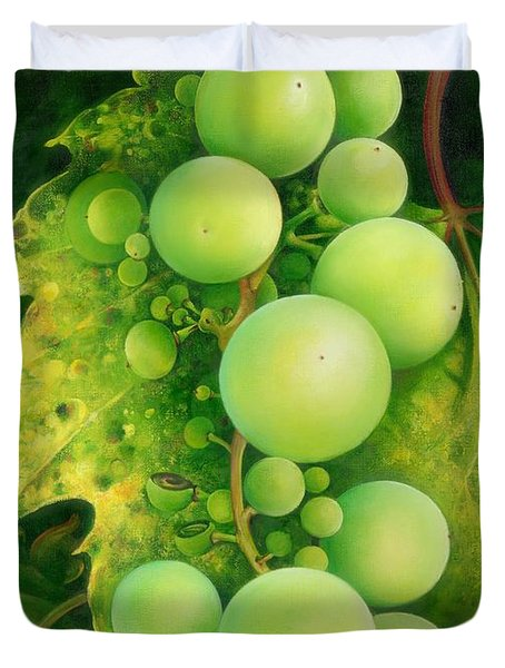 The Grapes Duvet Cover