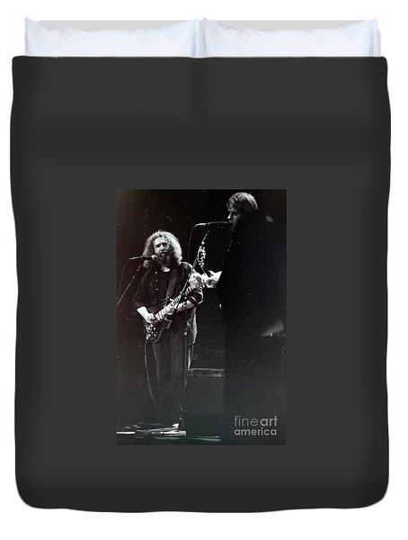 Duvet Cover featuring the photograph The Grateful Dead - Fare Thee Well   by Susan Carella
