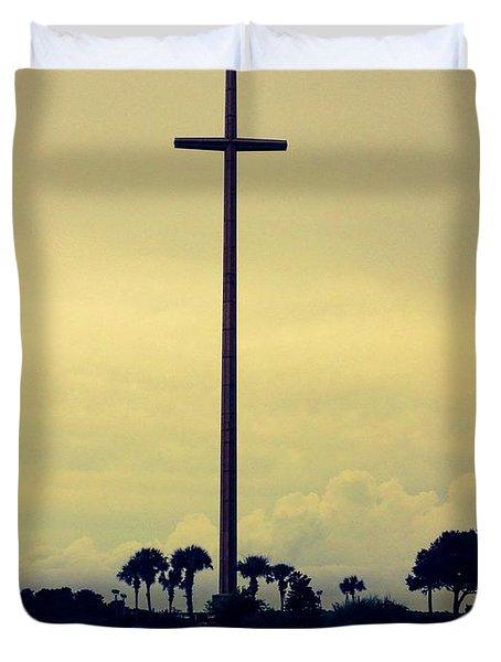 The Great Cross Duvet Cover