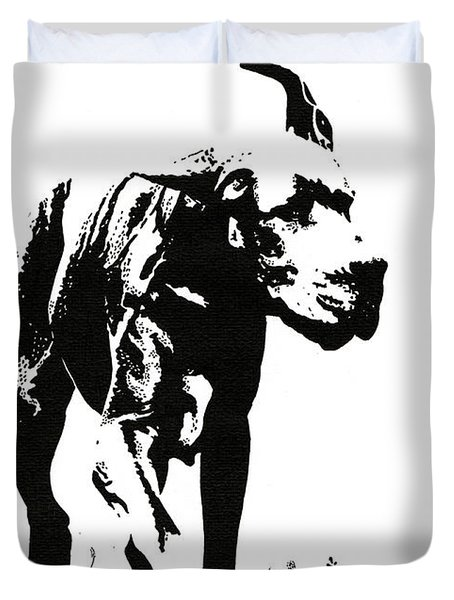 The Great Dane Duvet Cover