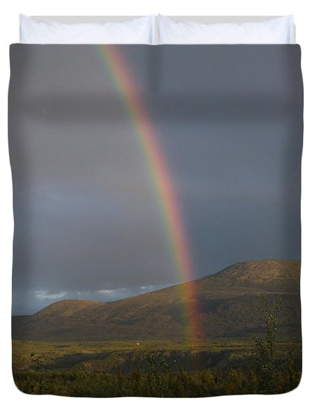 The Great Divide Duvet Cover by Brian Boyle