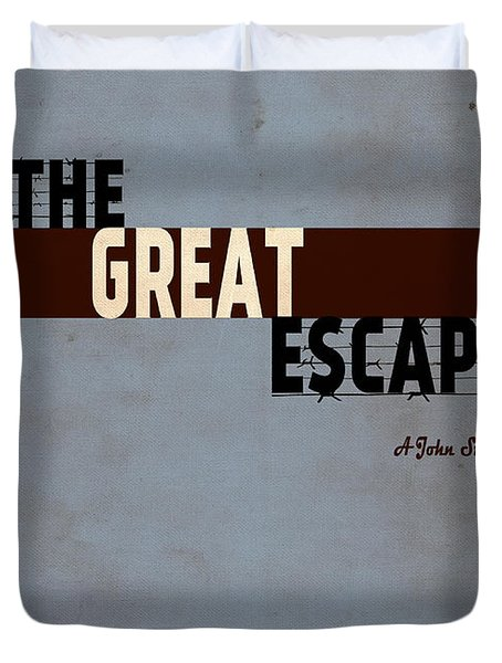 The Great Escape Duvet Cover by Inspirowl Design