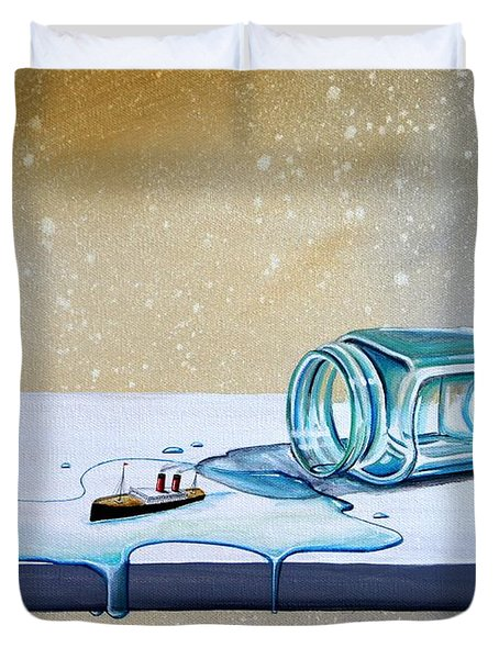 The Great Escape Duvet Cover by Cindy Thornton