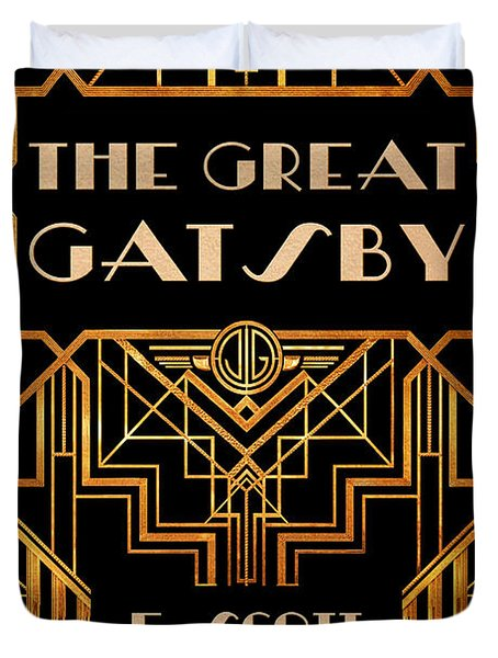 The Great Gatsby Book Cover Movie Poster Art 3 Duvet Cover