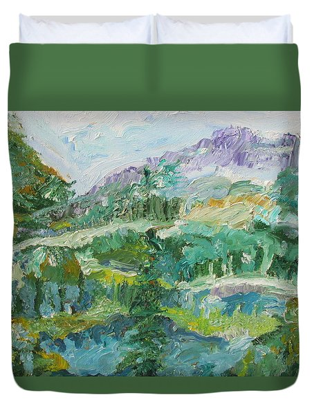 The Great Land Duvet Cover