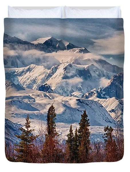 The Great One Duvet Cover by Michael Rogers