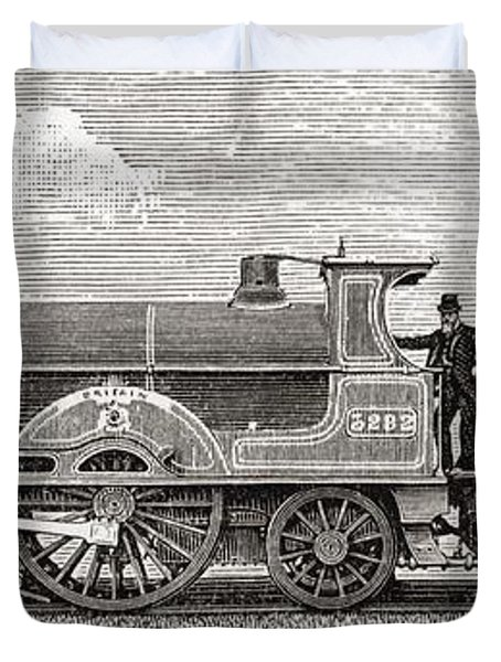 The Greater Britain Passenger Duvet Cover