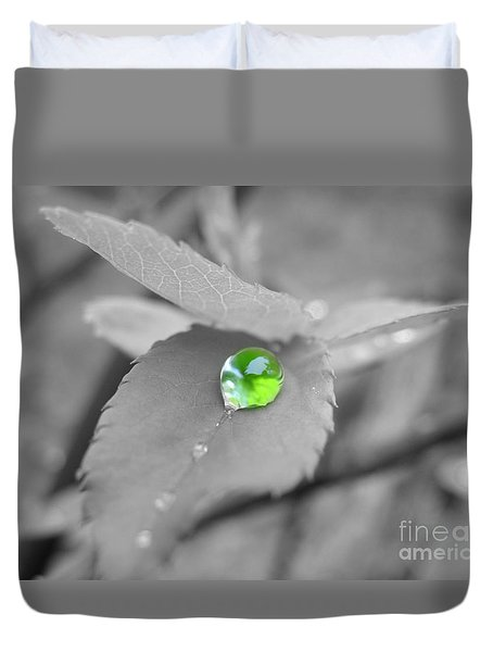 The Green Pearl Duvet Cover